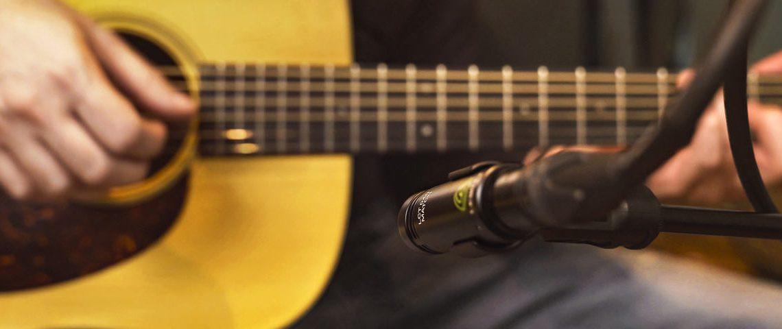 Microfoon voor akoestische gitaar