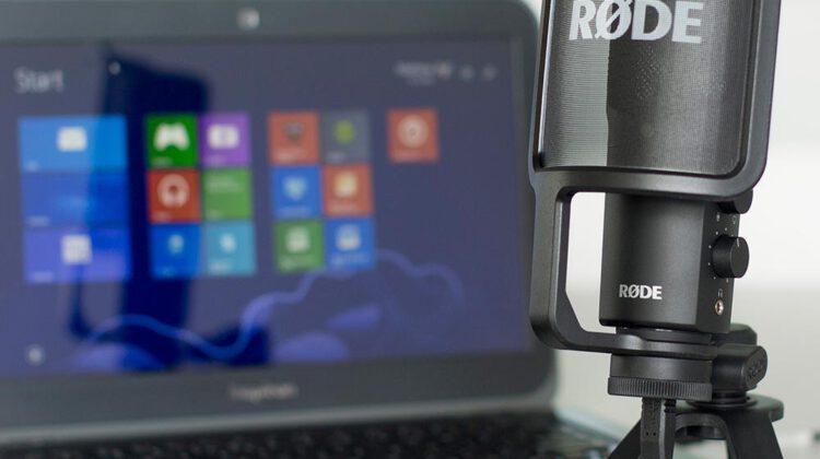 USB-microfoon rechtstreeks in de computer